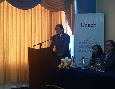 Ingeniería presenta la revista NovaSinergia en la Unach
