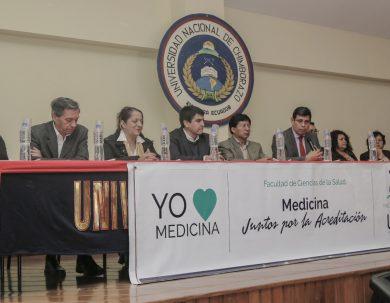 Medicina concluye el proceso de acreditación del entorno educativo en la Unach