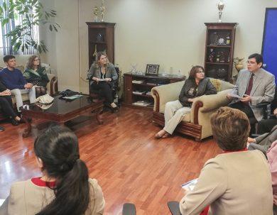 Facultad de Salud proyecta investigaciones internacionales con España
