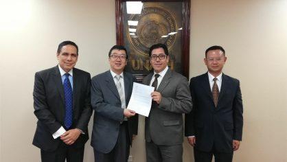 Unach recibió carta de intención de China para desarrollar proyectos conjuntos