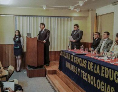 Facultad de Educación inauguró el período académico en la Unach