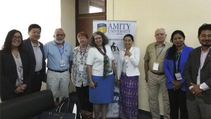 Unach participó en la reunión mundial de la International Goat Association