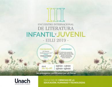 TERCER ENCUENTRO DE LITERATURA INFANTIL Y JUVENIL