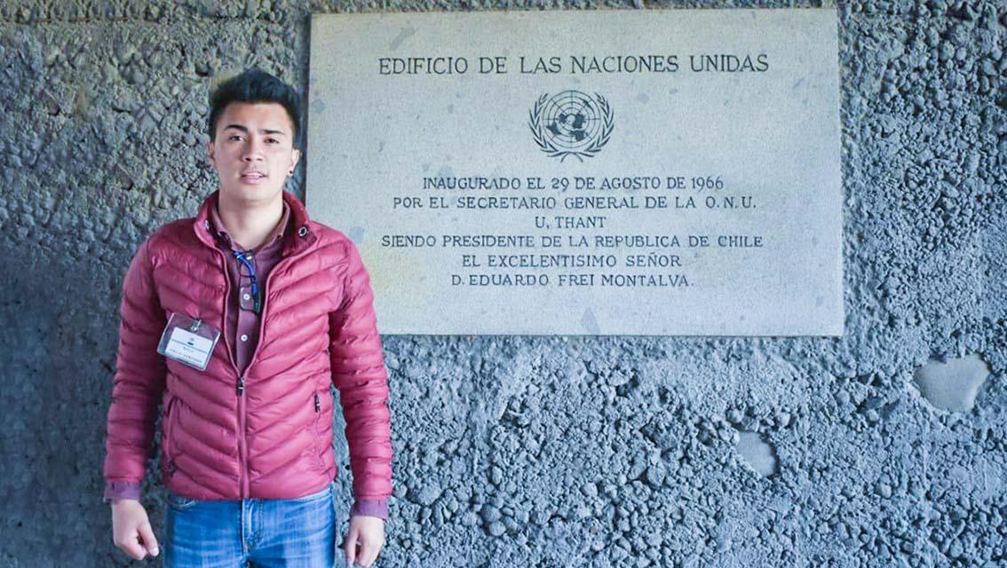 Estudiante de la Unach representa a Ecuador en el Foro de Juventudes