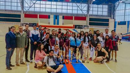 Unach premió a las y los campeones del Interfacultades 2019