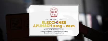 COMUNICADO APUNACH