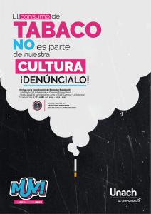 EL TABACO no es parte de nuestra cultura ! DENÚNCIALO ¡