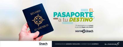 PASAPORTE A TU DESTINO UNACH 2020 - 1S