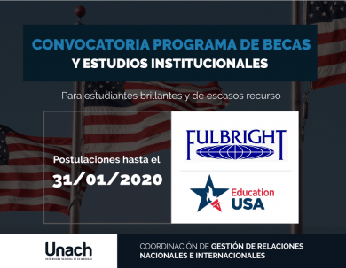 BECA DE EDUCATIONUSA PARA ESTUDIANTES BRILLANTES Y DE ESCASOS RECURSOS