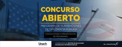 PROGRAMA DE SUBVENCIONES DE DIPLOMACIA PÚBLICA
