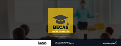 BECAS DE CAPACITACIÓN PERSONAL ACADÉMICO 2020