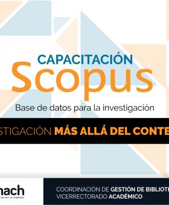 CAPACITACIÓN SCOPUS