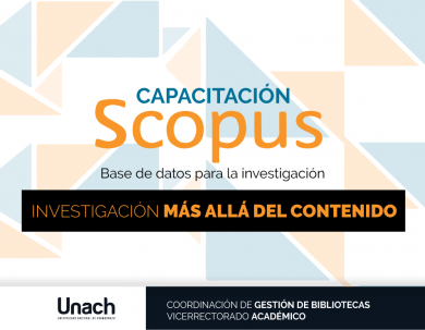 CAPACITACIÓN SCOPUS