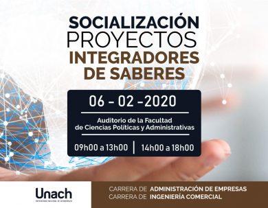 SOCIALIZACIÓN PROYECTOS  INTEGRADORES DE SABERES