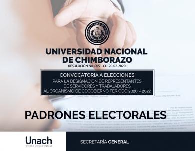 PADRONES ELECTORALES