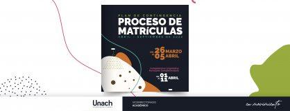 PROCESO DE MATRÍCULAS