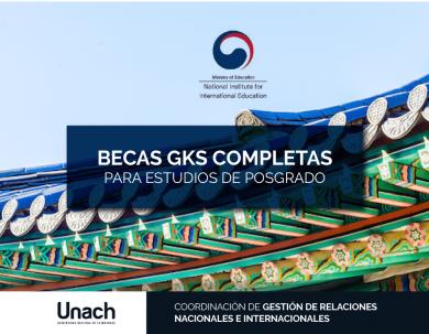 BECAS GKS PARA ESTUDIOS DE POSGRADO