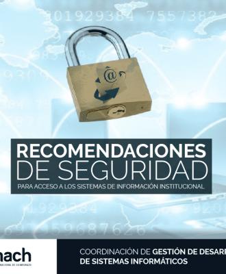 RECOMENDACIONES DE SEGURIDAD
