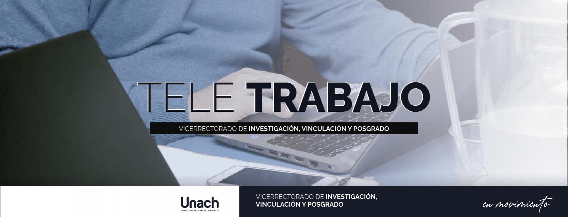 TELETRABAJO DENTRO DEL PLAN DE CONTINGENCIA DEL VICERRECTORADO DE INVESTIGACIÓN, VINCULACIÓN Y POSGRADO