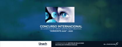 """CONCURSO INTERNACIONAL DE JUVENTUD DE OBRAS CIENTÍFICAS Y CREATIVAS """"HORIZONTE-2100"""" - 2020"""
