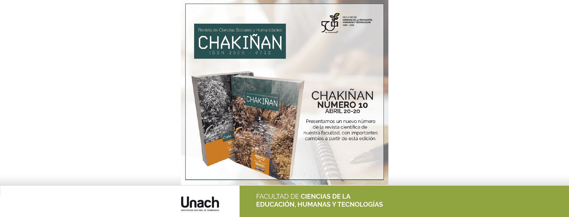 CHAKIÑAN  No-10. ABRIL 2020