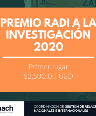PREMIOS RADI A LA INVESTIGACIÓN 2020