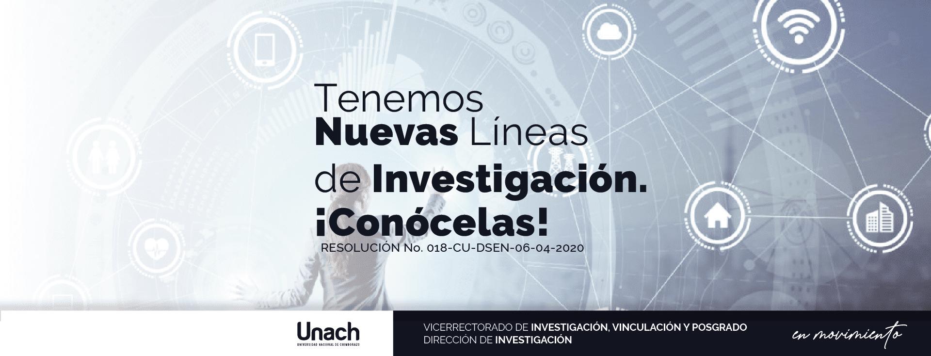 NUEVAS LINEAS DE INVESTIGACIÓN