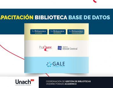 CAPACITACIONES BASES DE DATOS