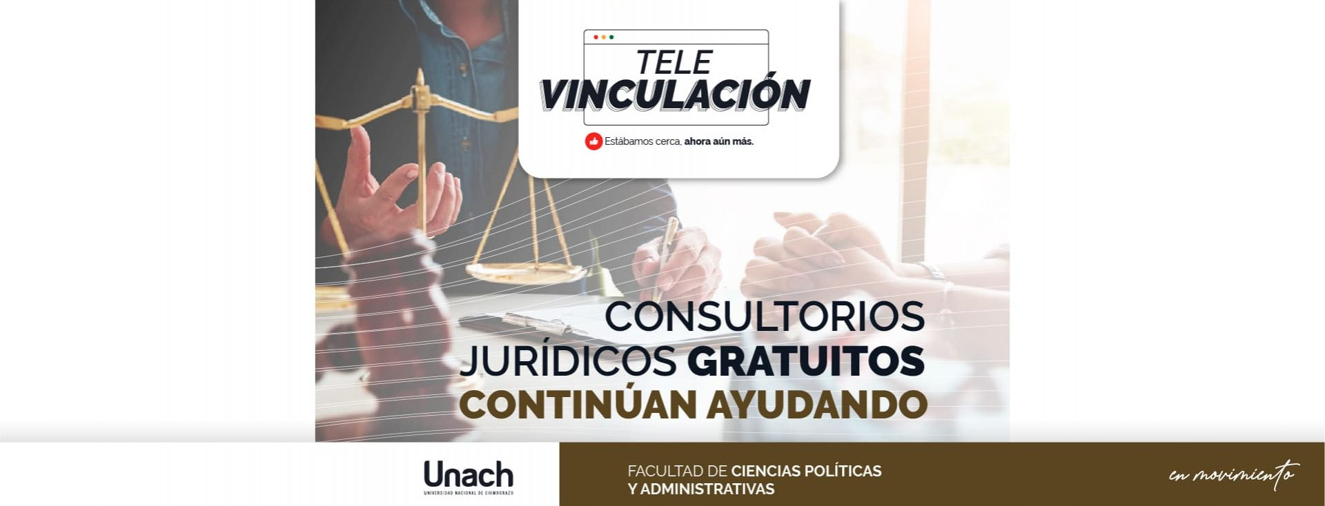 CONSULTORIOS JURÍDICOS GRATUITOS CONTINÚAN AYUDANDO