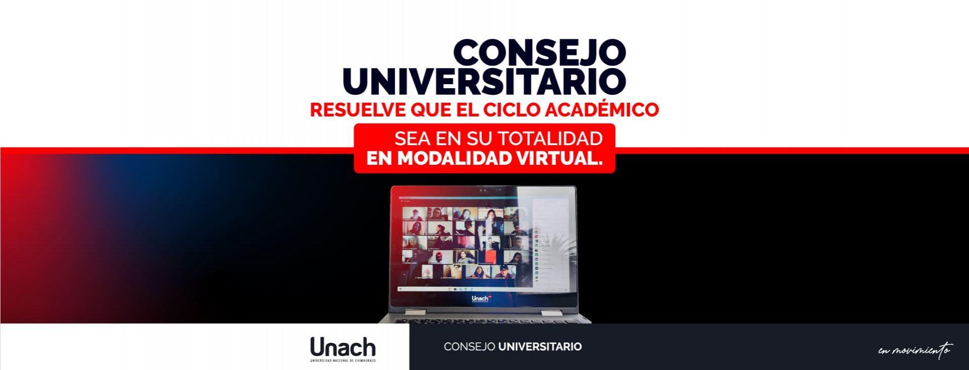 PERIODO ACADÉMICO MAYO-OCTUBRE 2020 SERÁ EN SU TOTALIDAD VIRTUAL