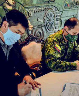 Unach firma carta de intención con la Brigada
