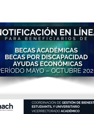 NOTIFICACIÓN DE BENEFICIARIOS DE BECAS
