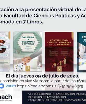 PRESENTACIÓN DE 7 LIBROS