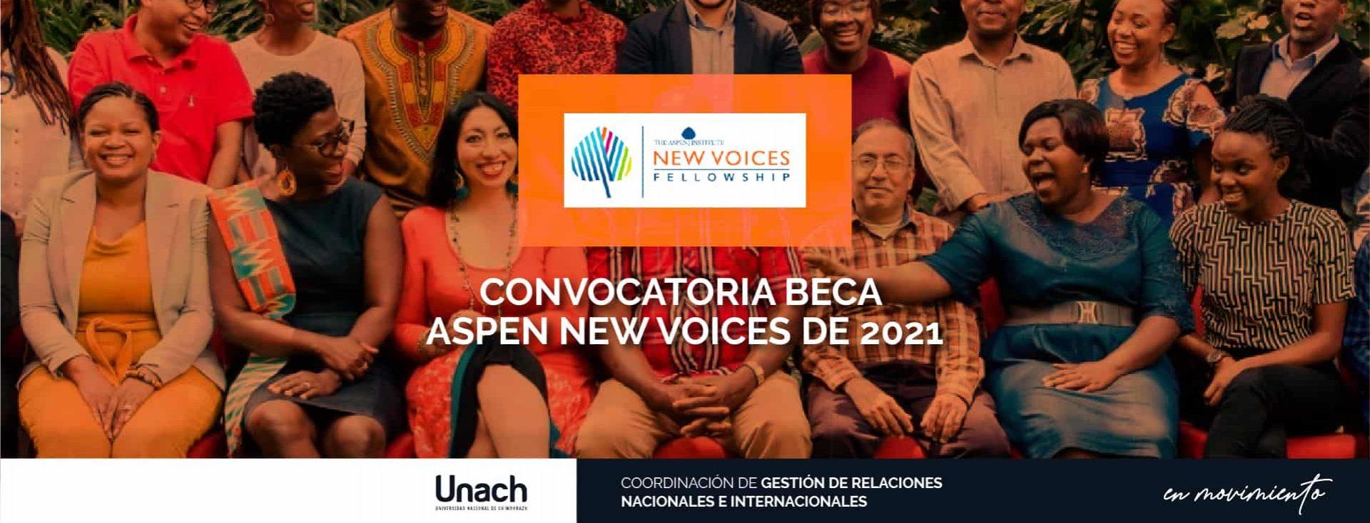 BECA ASPEN NEW VOICES DE 2021