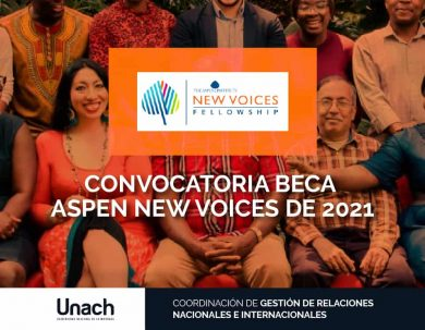 BECA ASPEN NEW VOICES DE 2021