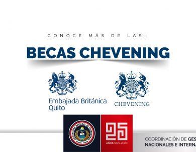 CHARLA SOBRE EL PROGRAMA DE BECAS CHEVENING