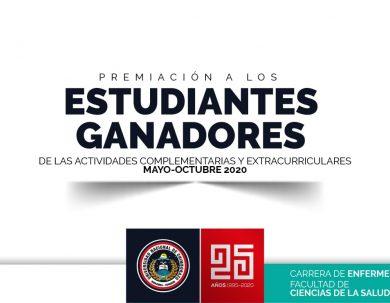 PREMIACIÓN A LOS ESTUDIANTES GANADORES