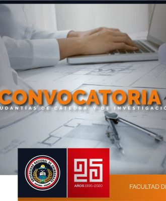 CONVOCATORIA A POSTULACIÓN DE AYUDANTÍAS DE CÁTEDRA Y DE INVESTIGACIÓN PERÍODO NOVIEMBRE 2020 - ABRIL 2021