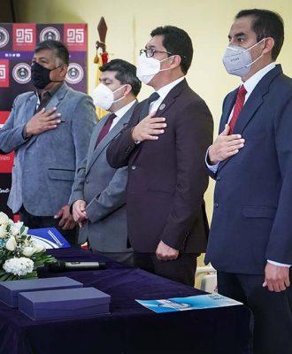 Los cuatro gremios unidos apoyan la gestión de las autoridades salientes
