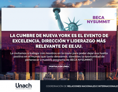 CONVOCATORIA BECA NEW YORK SUMMIT 2019