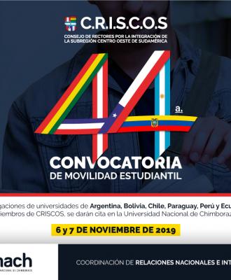 44 CONVOCATORIA CRISCOS