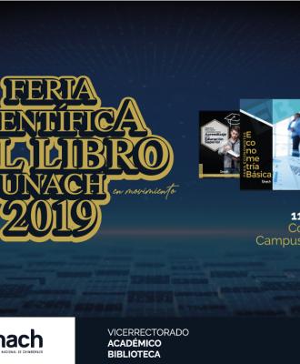 FERIA CIENTÍFICA DEL LIBRO 2019