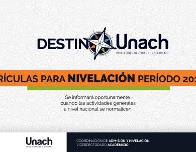 MATRÍCULAS NIVELACIÓN PERÍODO 2019 2S