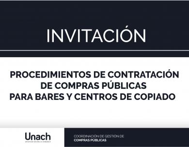 PROCEDIMIENTOS DE CONTRATACIÓN DE COMPRAS PÚBLICAS  PARA BARES Y CENTROS DE COPIADO