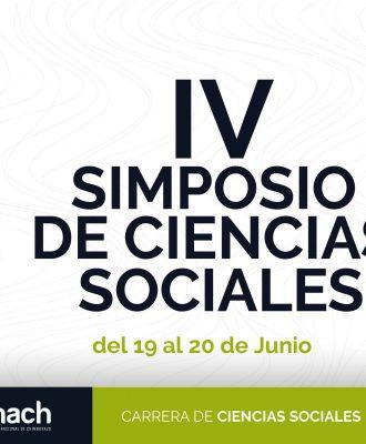 IV SIMPOSIO DE CIENCIAS SOCIALES 2019