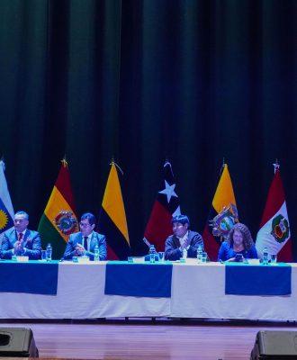 La Unach fue sede del Parlamento Andino