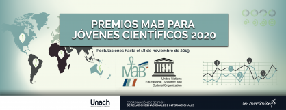 PREMIOS MAB PARA JÓVENES CIENTÍFICOS 2020