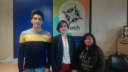 Nivelación de la Unach recibe a 4 alumnos del Grupo de Alto Rendimiento