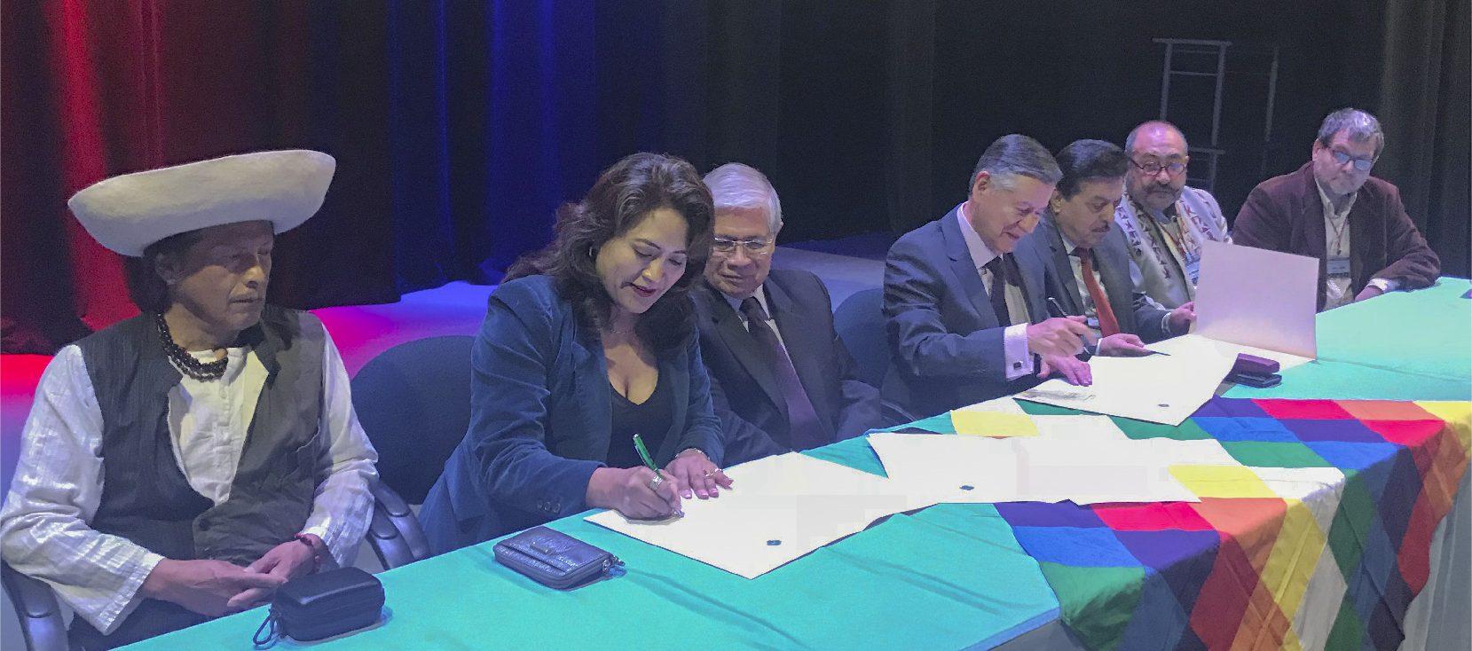 Unach firma Acuerdo para la creación de la Red de Epistemología Andina