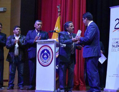 Unach conmemoró sus 23 años de creación con la Sesión Solemne universitaria